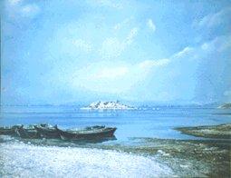 Shiroka - oil on canvas - 90x70 cm
