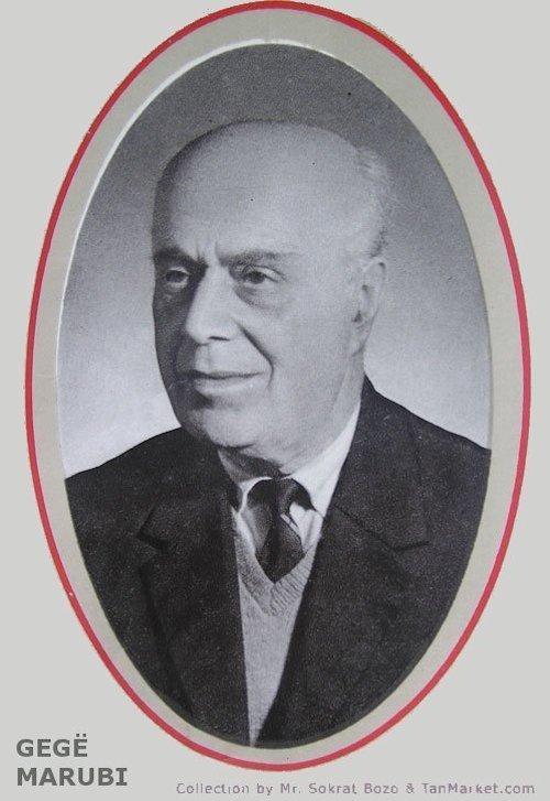 Gegë Marubi (1907-1984)