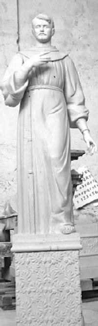 Boceti i statujës së Gjergj Fishtës