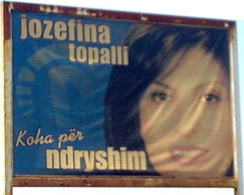 Jozefina Topalli - poster