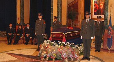 Homazhe në Kuvendin e Kosovës